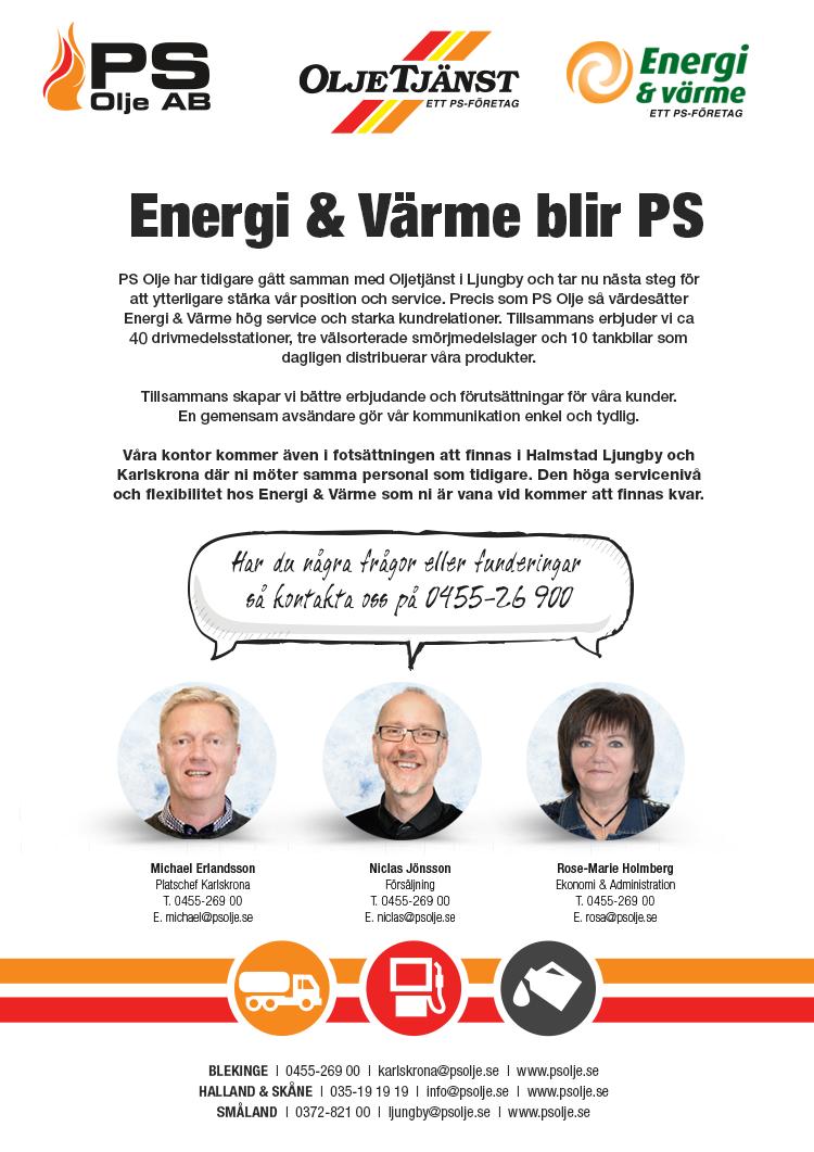 energi och värme karlskrona